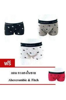 Abercrombie & Fitch กางเกงในชาย ทรง boxer brief (BUY 3 GET 1 FREE)