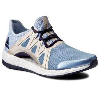 "Adidas (โปรดเทียบไซด์รองเท้า ตามตาราง) รองเท้าฟิตเนส รองเท้าลำลอง รองเท้าวิ่ง รองเท้าเที่ยว รองเท้าบาส รองเท้าวอลเล่ รุ่น adidas Pure Boost Xpose"""