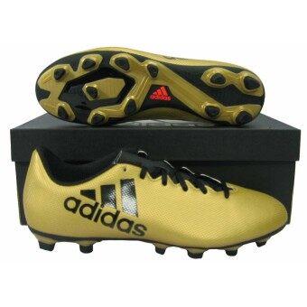 รองเท้ากีฬา รองเท้าสตั๊ด adidas CP-9195 X 17.4 FxG ทอง