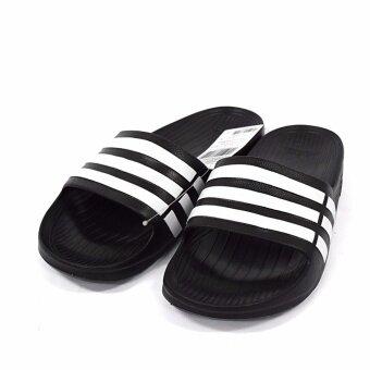 รองเท้าแตะสวม Adidas รุ่น Duramo Slide สีดำ (ของแท้เท่านั้น)