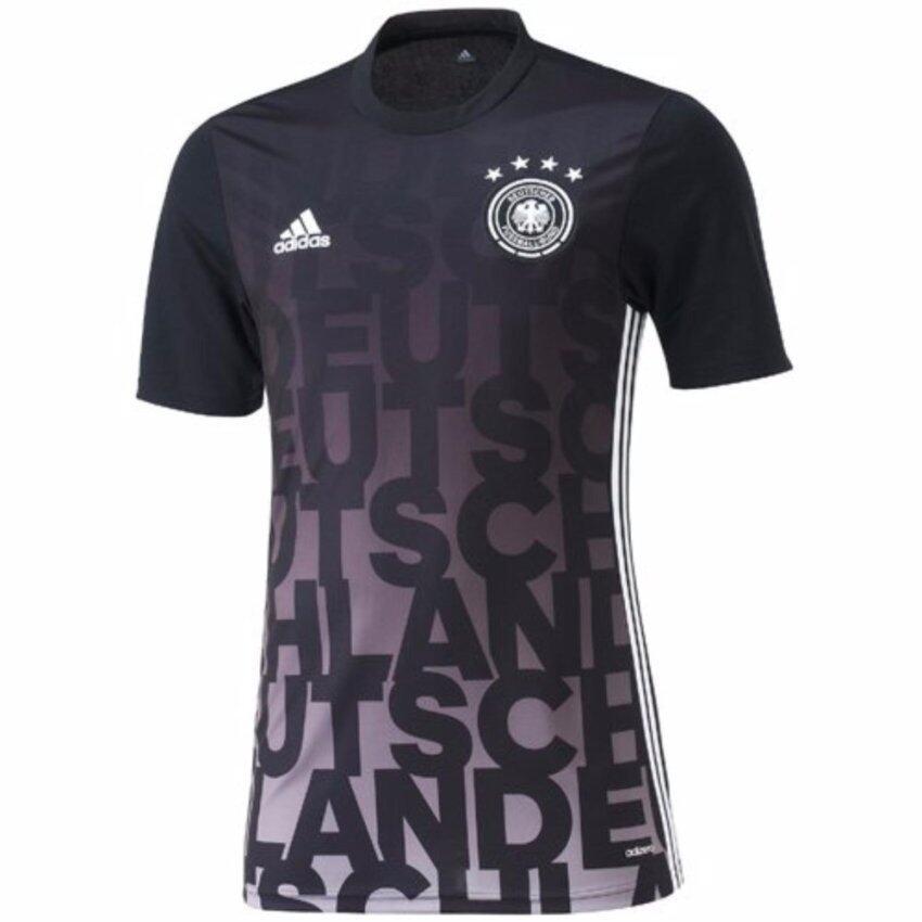 check ราคา Adidas เสื้อฟุตบอล Germany Pre-Match AC6574 (Black)