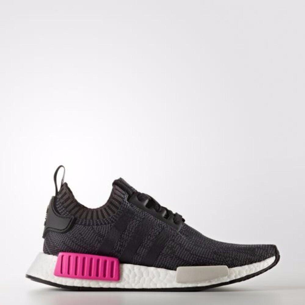 เชียงใหม่ รองเท้าAdidas NMD PK สวมใส่สบาย สีดำปลั๊กช๊อคกิ้งพิ้ง