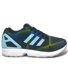 ADIDAS รองเท้า ORIGINALS รุ่น ZX FLUX รหัสสินค้า B34516 สีลวดลายสีน้ำเงินเข้ม