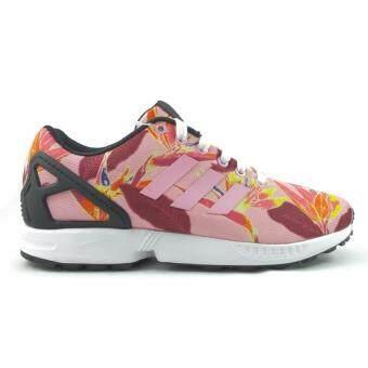 ราคา ADIDAS รองเท้า ORIGINALS รุ่น ZX FLUX รหัสสินค้า B34520 สีลวดลายออกชมพู