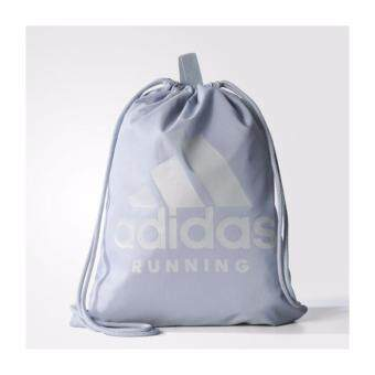 Adidas กระเป๋า อดิดาส Run GymBag BR7837 LBL (590)