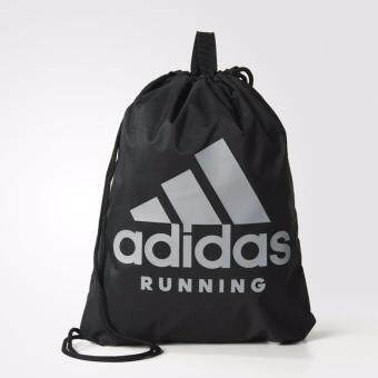 Adidas กระเป๋า Run GymBag S96355 BK (590)
