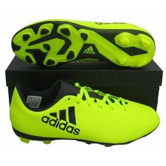 รองเท้ากีฬา รองเท้าสตั๊ดเด็ก adidas S82404 X 17.4 FxG J เขียวตอง