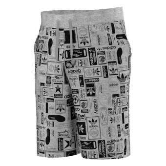 ราคา adidas กางเกงขาสั้น Street Grp Aop Short รุ่น AZ1102 (Grey)