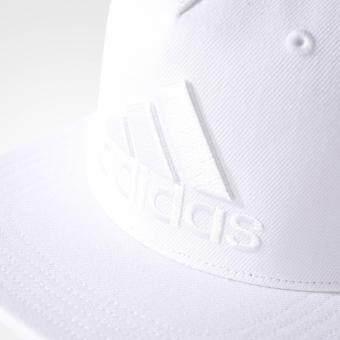 Adidas หมวก อดิดาส women Cap Flat Logo S97608 WH (750)
