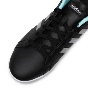 ADIDAS WOMEN รองเท้าผ้าใบ ผู้หญิง รุ่น VS CONEO QT W - BB9647(CBLACK/MSILVE/ENEAQN) - 5