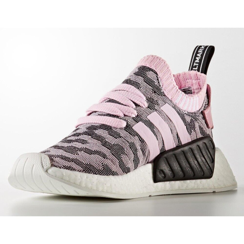 การใช้งาน  ตาก ADIDAS WOMEN S ORIGINALS NMD_R2 PRIMEKNIT SHOES BY9521 (Pink & Black)