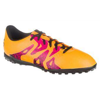 Adidas รองเท้าสตั๊ด รองเท้าฟุตบอล x 15.4 ร้อยปุ่ม เบอร์ 44-45(เหลือง) - 2