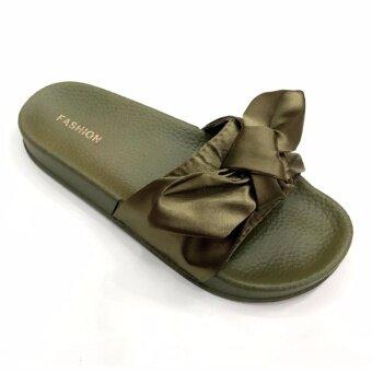 Air Move รองเท้าแตะพื้นหนานุ่มหญิง (มี size 36-41) รุ่น 8803(Green)