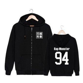 ALIPOP Kpop Korean Fashion BTS Bangtan Boys Young Forever AlbumCotton Zipper Autumn Hoodies Clothes Zip-