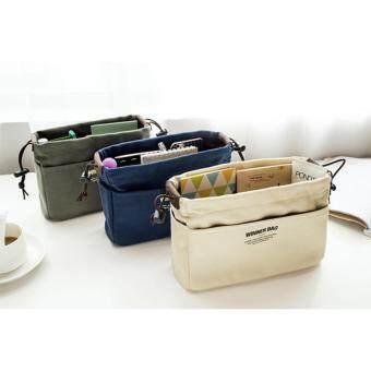 กระเป๋าจัดระเบียบ Bag in Bag สีน้ำเงิน L