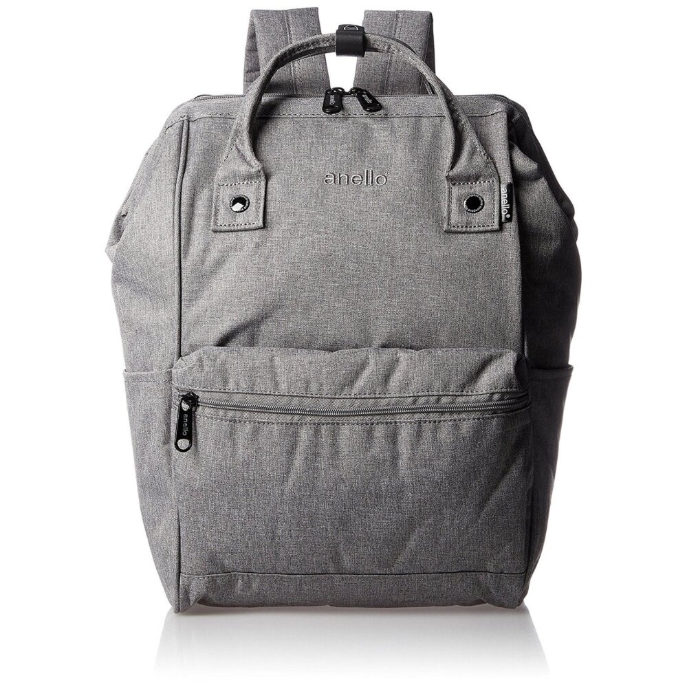 ยี่ห้อไหนดี  นครนายก Anello Classic High-Density Heat-Tight Polyester Backpack (Grey)