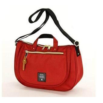 กระเป๋าสะพาย ANELLO ทรงรี(สีD.orange)