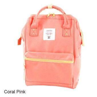 Anello Lotte กระเป๋าเป้นำเข้าตรงจากญี่ปุ่น ของแท้100% ขนาดเล็ก mini(สีชมพูอมส้ม) - 2