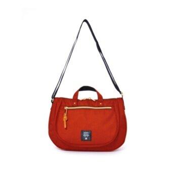 Anello Mini กระเป๋าสะพายข้าง Oval Shoulder Bag 2Way (D.Orange)