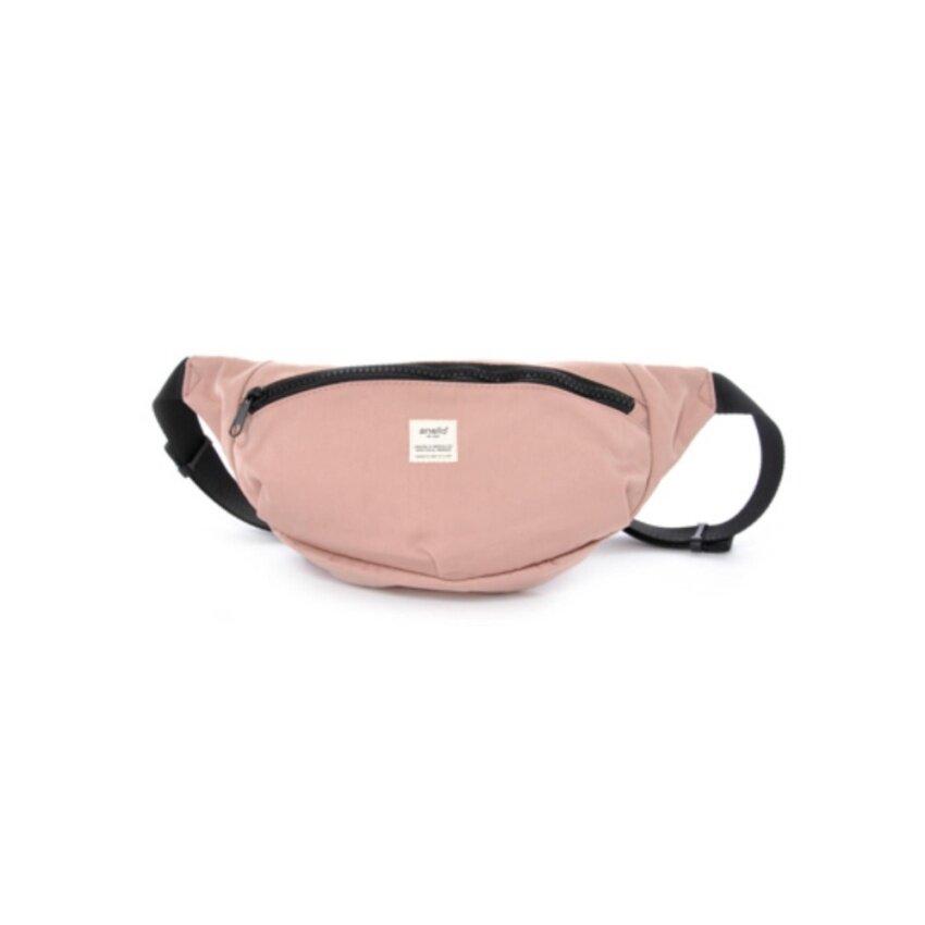 Anello Mini Shoulder Strap กระเป๋าคาดอก (Pink Beige)