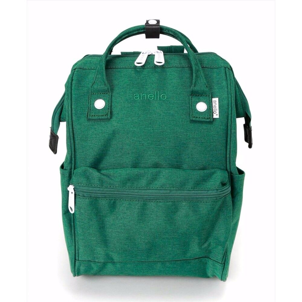 ยี่ห้อไหนดี  นนทบุรี กระเป๋าเป้สะพายหลัง Anello Mottled Backpack Green Color (Mini Size) - Japan Imported