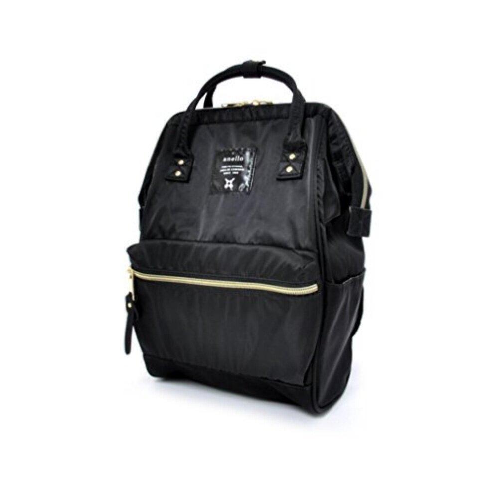 สอนใช้งาน  น่าน กระเป๋าเป้ Anello Nylon Unisex Backpack Black (Classic Size) - Japan Imported 100%