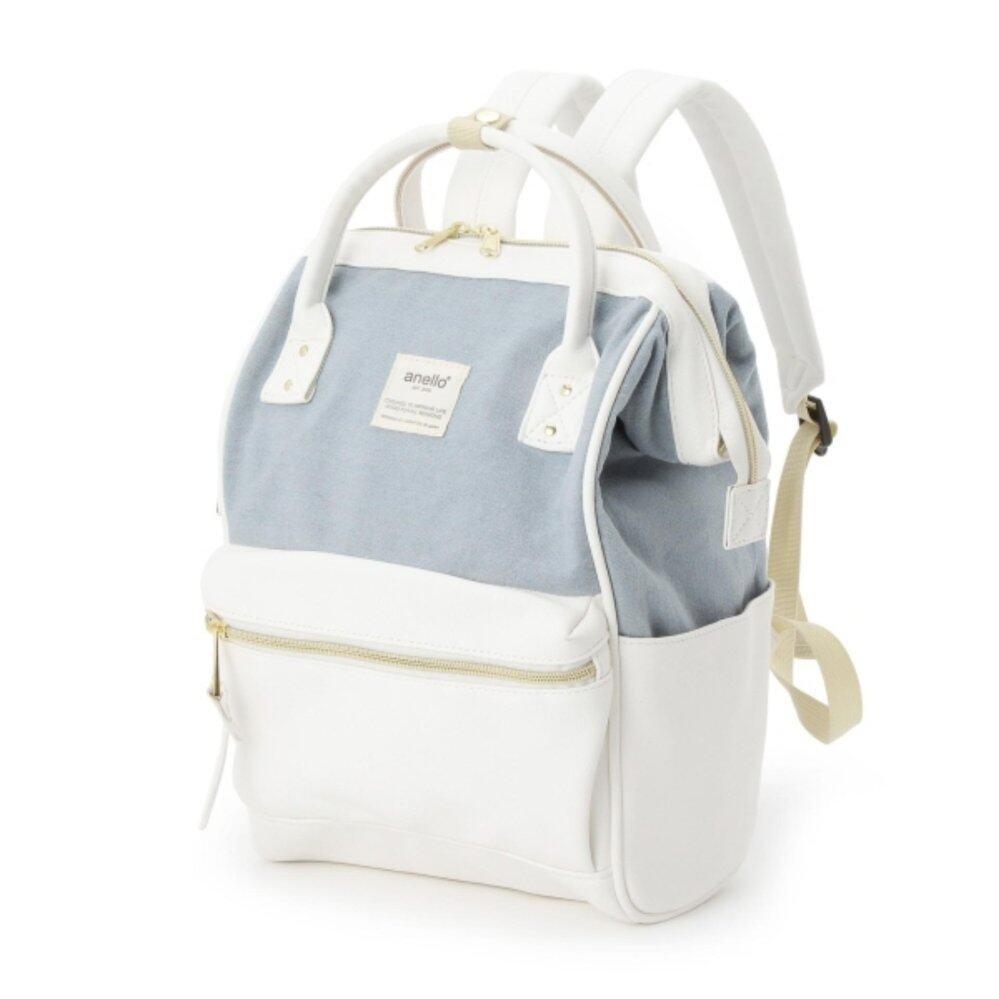 การใช้งาน  กาฬสินธุ์ กระเป๋าเป้ Anello The Emporium Mini Backpack Limited Edition - (Ivory Color) Japan Imported 100%