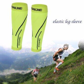 AONIJIE 1 Pair AONIJIE 1 Pair Shin Calf Compression sleeve Splint Leg Compression Socks for Outdoor Sport (Green) - intl