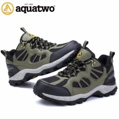 Aquatwo  รองเท้ากีฬาน้ำหนักเบา สำหรับเล่นกีฬาและกิจกรรมกลางแจ้ง ปีนเขา เดินป่า พื้นคุณภาพยึดเกาะดีเยี่ยม รุ่น304 สีเขียว