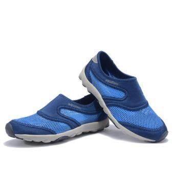2561 Aquatwo รองเท้าแฟชั่น รองเท้าลุยน้ำ ดำน้ำ รุ่น S503 (สีน้ำเงิน)