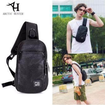 ต้องการขาย กระเป๋าสะพายข้าง พาดลำตัวสีดำ ผู้ชาย กันน้ำ รุ่นXB130027