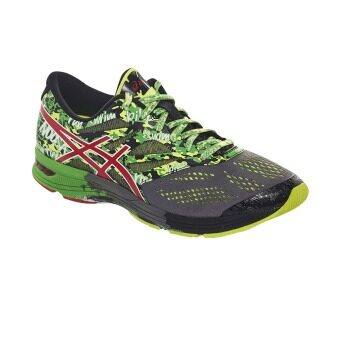 2561 ASICS GEL-NOOSA TRI 10 CARBON/FIERY RED/GREEN