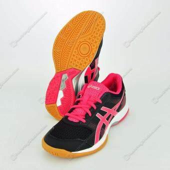 2561 Asics Indoor Court Women's รองเท้าแบตมินตัน,วอลเล่ย์บอล ผู้หญิง Gel-Rocket 8 (B756Y-9019)