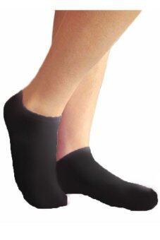 AungPao ถุงเท้าข้อสั้น เกาหลี แพ็ค 6 ชิ้น (สีดำ) - 3