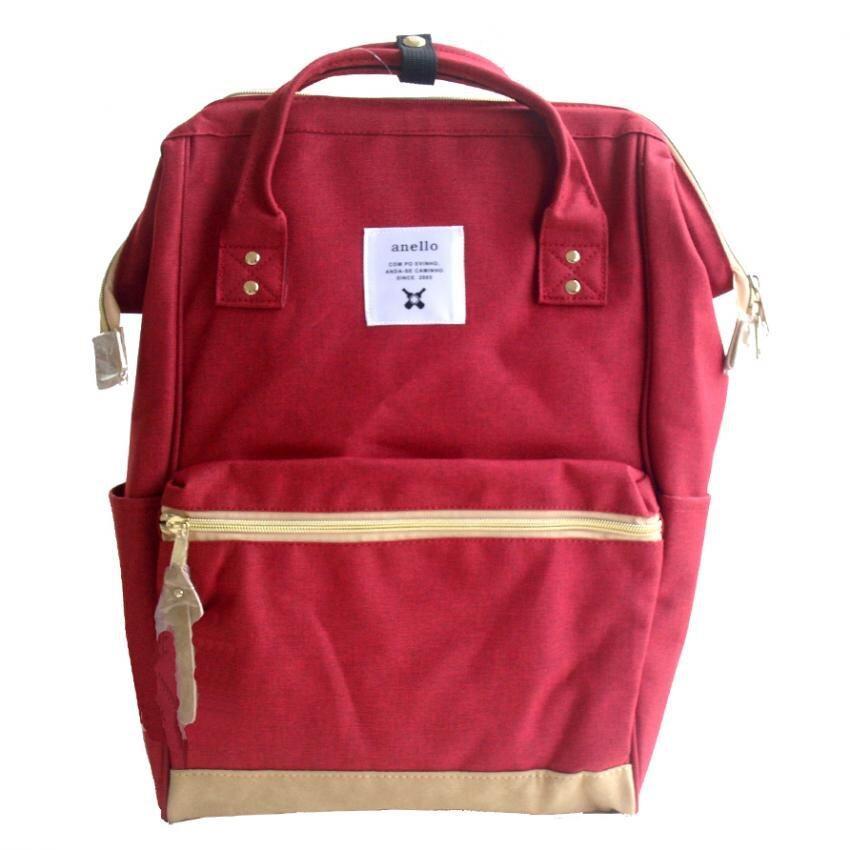 ยี่ห้อนี้ดีไหม  กำแพงเพชร Authentic Anello Japan Imported Canvas Unisex Multicolor Backpack