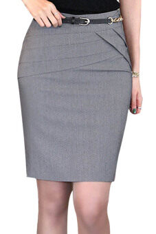 Harga Azone High Waist Skirts (Dark Gray) (Intl)