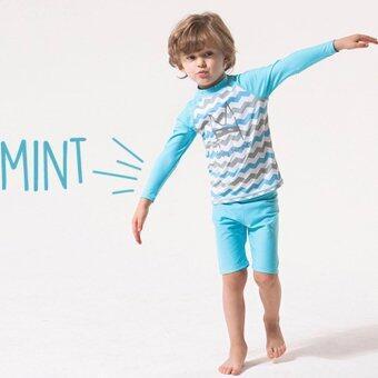 ฺBaby ชุดว่ายน้ำ เสื้อแขนยาว + กางเกง