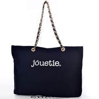 ขายด่วน กระเป๋าสะพายบ่า สายโซทองรุ่น115 (สีดำ)