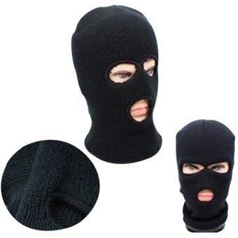 Balaclava Motorcycle Neck Winter Ski Full Face Mask Cover Hat CapBlack- - intl
