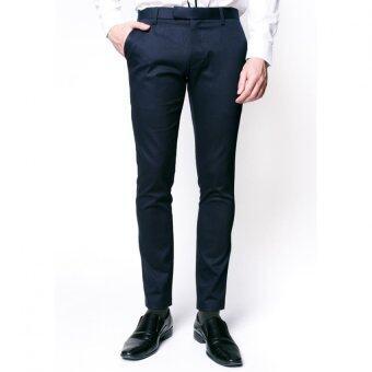 B&B กางเกงขายาว Chino Pants (NAVY BLUE)