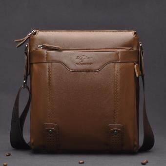 BANDICOOT กระเป๋าสะพายข้าง Business Casual รุ่น 6001 (สีน้ำตาลอ่อน/กากี)