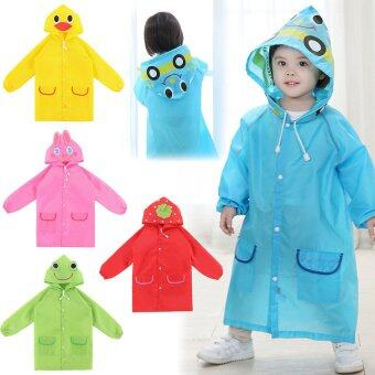 Bang Waterproof Kids Rain Coat For Children Raincoatrainwear/RainsuitKids Boy Girl Animal Style Raincoat