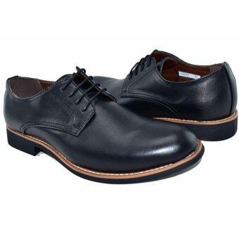 BAOJI รองเท้าหนังผู้ชาย BAOJI รุ่น BX642(Black) - 5