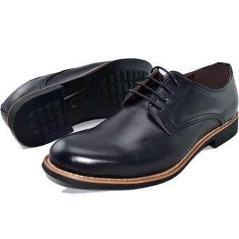 BAOJI รองเท้าหนังผู้ชาย BAOJI รุ่น BX642(Black) - 4