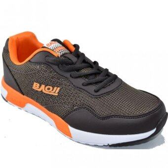 Baoji รองเท้าผ้าใบผู้หญิง รุ่น BJW235 (Brown/Orange)