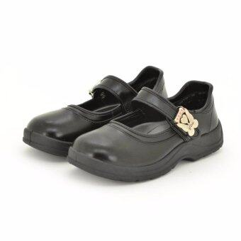 Bata B-Cutie Butterfly รองเท้านักเรียนเด็กผู้หญิง สีดำ รหัส 4416194