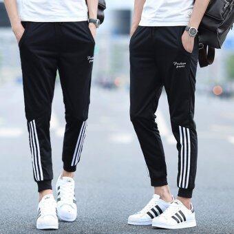 BB กางเกงขายาว ลำลอง ผู้ชาย (สีดำ) รุ่น 020