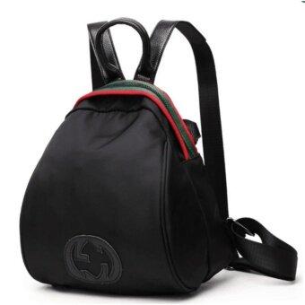 BEST FASHION กระเป๋าเป้สะพายหลัง กระเป๋าสะพายหลังผู้หญิง backpack women (black)