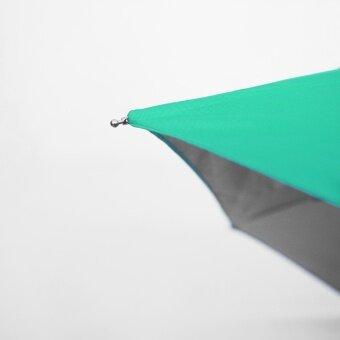 BGG UV Cut Tiny Folding Umbrella ร่ม ร่มพับ กัน uv เคลือบเงินขนาดเล็ก (เขียว)
