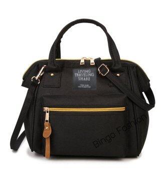 Bingo fashion Japan Women Bag กระเป๋าสะพายข้างสำหรับผู้หญิง (Black)